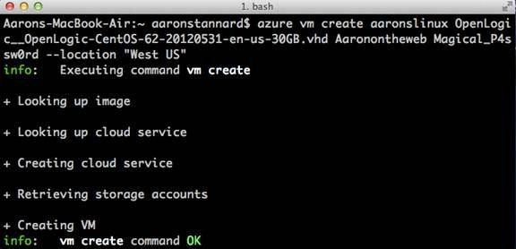 Managing Your Windows Azure Services from OS X, Linux, or