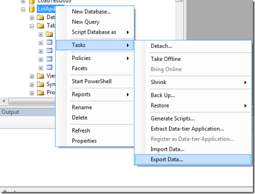 How to Migrate Data between On-Premise SQL Server 2008 R2